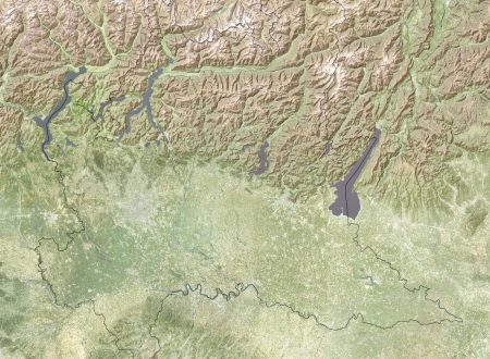 Mappa realtime del Centro Metereologico Lombardo