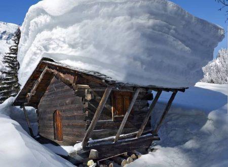 Situazione neve sui monti al Nord-Ovest
