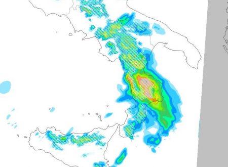 Imminente peggioramento, prima il freddo..poi la neve(focus neve sulla Calabria)