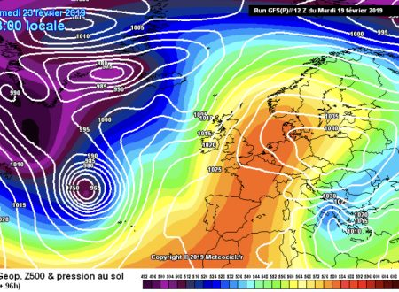 Possibili freddi scenari verso il week-end?