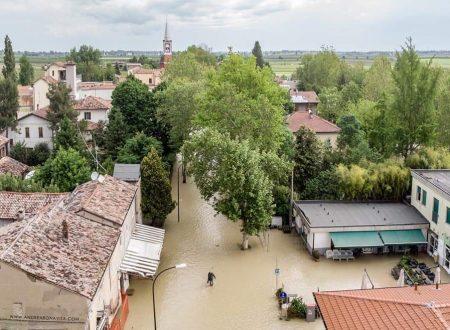 PIOGGIA, ESONDAZIONI, GRANDINE E NEVE A QUOTE COLLINARI IN ROMAGNA, DISAGI PER L'AGRICOLTURA