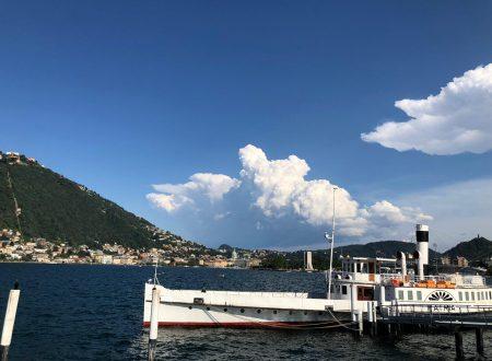 Tempo atteso nel weekend in Italia