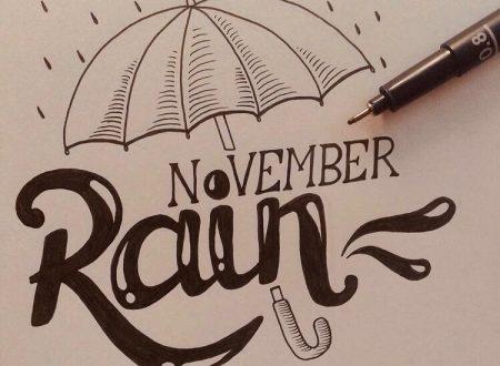 Novembre non ha intenzione di risparmiare nessuno
