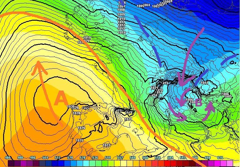 All'orizzonte una fase invernale per il Centro-Sud? Prima, però…[I dettagli]